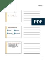 Gerência de Projetos - Primeiro Capitulo