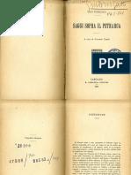 Foscolo - Saggi sopra il Petrarca