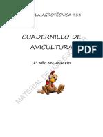 CUADERNILLO AVICULTURA