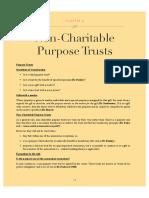Trusts Non Charitable