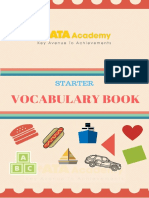 Vocabulary Starter Book KATA 1-8