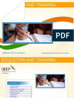 Education and Training Industry in India Report June 2017
