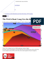 The Web Is Dead
