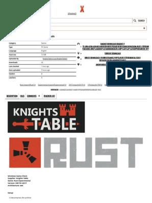 Download Rust Experimental v2017 DevBlog 179 x64 #KnightsTable | Ibm