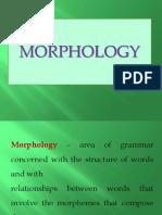 Morphology - Presentation