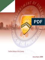 Frontline Defense of the Economy 2008 Annual Report