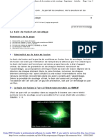 Techniques de L'Ingénieur - Le Bain de Fusion en Soudage