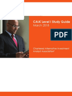 March 2018 Level i Study Guide Final