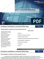 Six Reasons Certification is Essential White Paper