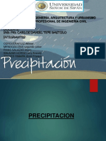 Precipitacion Terminada