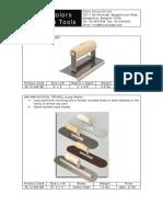 EC-Concrete Tool Products