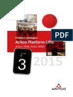 Aritco Platform Lifts 2015 JAN en L