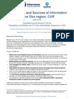 Internews HIF CAR-Obo Survey Report 2012-July(1)