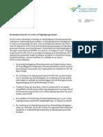Kommissorium for Ekstern Kvalitetssikring Af Signalprogrammet