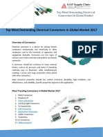 Top Most Demanding Electrical Connectors in Global Market 2017