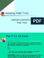 Amazing Math Trick 12461