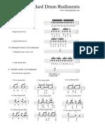 Cynic Drums Rudiments.pdf