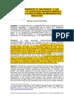 Los Agreements Of ThePeople Y Los LevellersLaLuchaPorUnN-