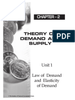 5. Theory of Demand and Supply