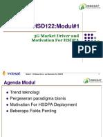 1 Modul#1 HSD122 3GMarketDriver&HSDPAMotivation