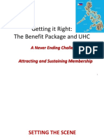 Getting It Right the Benefit Package and Uh c