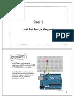 UGO Arduino handleiding - Deel 1