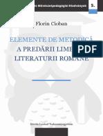 elemente de metodica a predarii limbii si literaturii romane.pdf