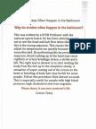 Article WhyDoStrokesOftenHappenintheBathroom