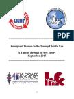 Immigrant Women in the Trump/Christie Era