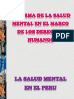 Reforma de la salud mental en el Perú