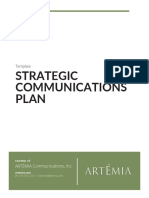 Strategic Communications Plan