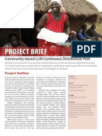 LLIN CD Pilot Project Brief