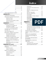 Manual Optoma H141x