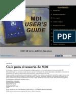 MDI Manual Spanish