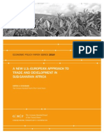 A New U.S.-European Approach to Trade and Development in Sub-Saharan Africa