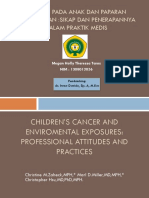 Children's Cancer and Enviromental Exposures