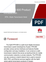 OptiX RTN 600 Product Introduction-20080801-A