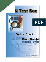 Manual CAN Test Box TA069