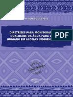 Diretrizes Monitoramento Qualidade Agua Aldeias Indigenas