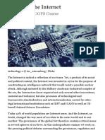 Politics of the Internet | Public Seminar