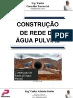 Construção de Rede de Água Pluvial