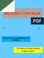 Mejora Continua -Construccion 2