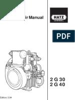 Workshop Manual 2G e motores Hatz
