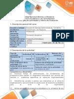 Guía de Actividades y Rúbrica de Evaluación Unidad 1 - Fase 2 Identificar Las Variables y Actores
