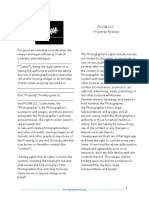 Model Release Property Release PICHA LLC.