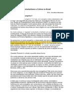 Unidade 3 - Protestantismo e Cultura No Brasil