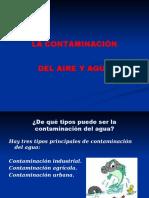 Contaminacion Aire y Agua