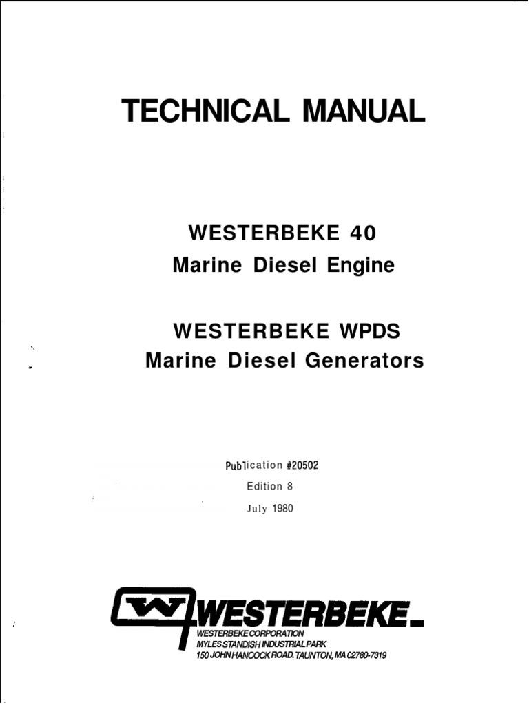020502 technical manual wb 40-wpds ed  8 pdf | Machines