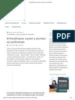 El Parafraseo_ Lector y escritor se confrontan.pdf