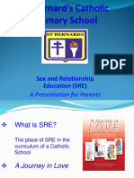 SRE Parents Presentation 2016